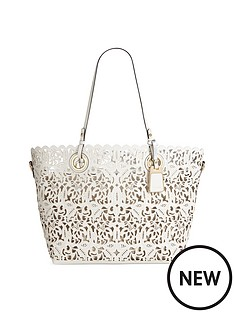 aldo-laser-cut-tote-bag