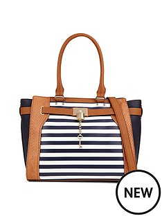 aldo-stripe-tote-bag