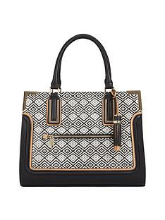 aldo-tribal-print-tote-bag