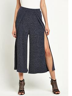 lavish-alice-rib-knit-split-side-culottes