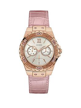 guess-guess-white-dial-crystal-detailing-light-pink-leather-strap-ladies-watch