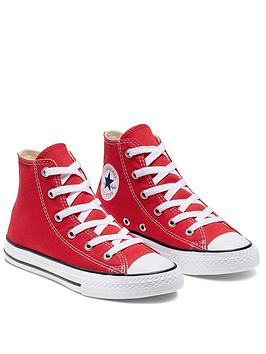 Converse Converse Chuck Taylor All Star Hi Core Childrens Trainer - Red Picture