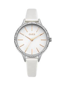 oasis-oasis-white-dial-white-pu-strap-ladies-watch