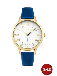 oasis-oasis-white-dial-blue-pu-strap-ladies-watch