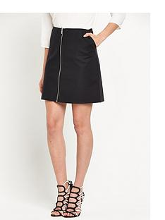 oasis-zip-front-a-line-skirt