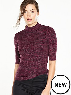 v-by-very-twist-yarn-turtle-neck-jumper