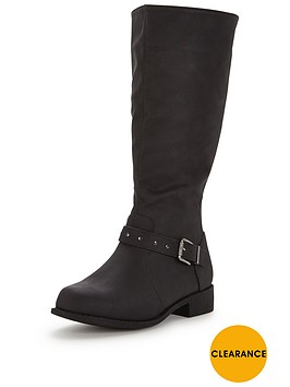 v-by-very-woodrow-elastic-riding-boot-with-metal-trim-detail-black-extra-wide-fit