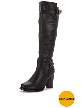 v-by-very-prospect-cleated-sole-buckle-detail-knee-high-cavalier-boot