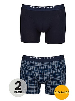 hugo-boss-patternplain-boxer-trunks-2-pack