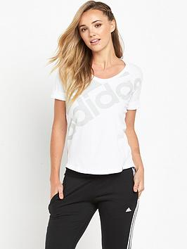 adidas-athletics-logo-t-shirt