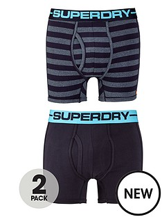 superdry-superdry-2pk-stripeplain-boxer