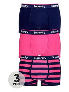 superdry-superdry-3pk-stripeplain-trunk