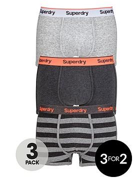 superdry-plainstriped-trunks-3-pack