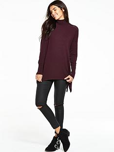 v-by-very-roll-neck-mesh-shoulder-detail-jumpernbsp