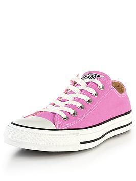 Converse Chuck Taylor All Star Ox Plimsolls  Pink