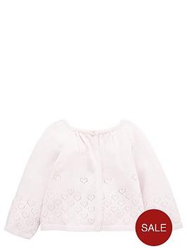 ladybird-baby-girls-pointellenbspcardigan