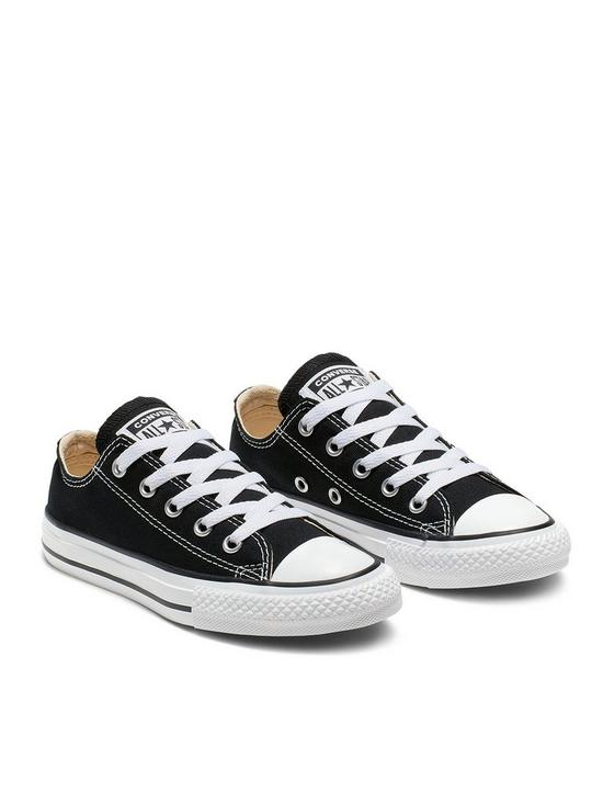 Chuck Taylor All Star Ox Core Childrens Trainer Black