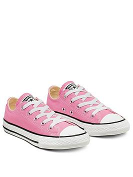 Converse Converse Chuck Taylor All Star Ox Core Childrens Trainer - Pink Picture