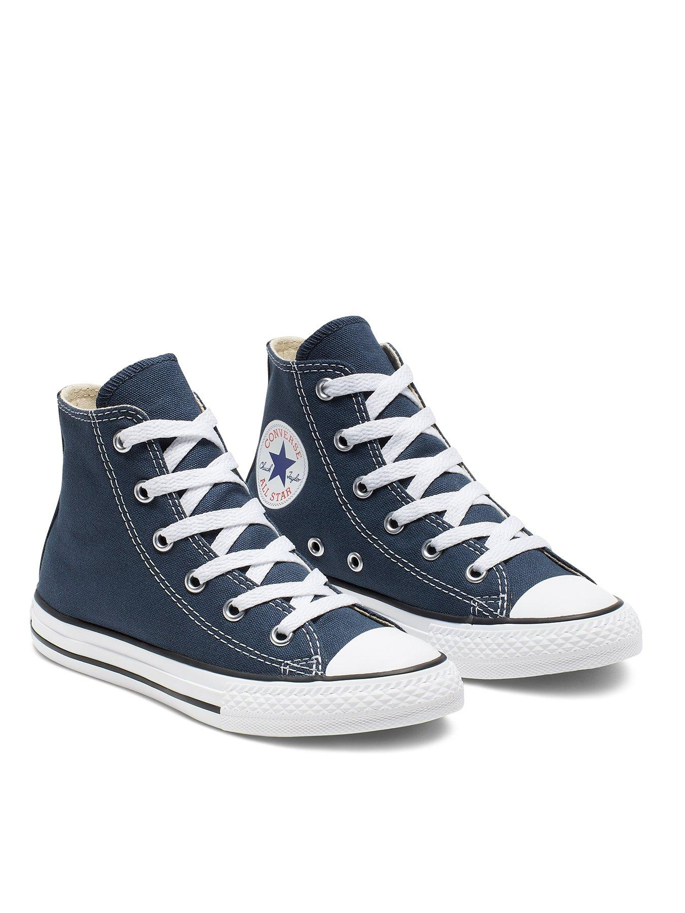 Blue   Converse   Trainers   Child