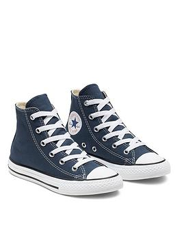Converse Converse Chuck Taylor All Star Hi Core Childrens Trainer - Navy Picture