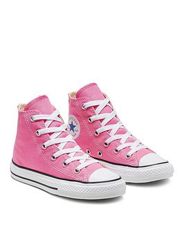 Converse Converse Chuck Taylor All Star Hi Core Childrens Trainer - Pink Picture