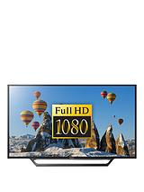 Bravia KDL48WD653 48 inch Full HD Smart TV with Freeview, HDD Rec and USB Playback - Black