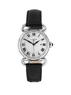 links-of-london-driver-stainless-steel-case-with-black-leather-strap-ladies-watch