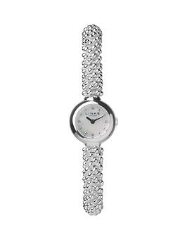 links-of-london-effervescence-stainless-steel-white-mother-of-pearl-dial-ladies-watch