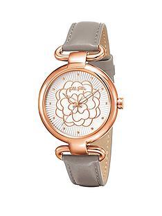 folli-follie-santorini-flower-stainless-steel-case-with-light-grey-leather-strap-ladies-watch
