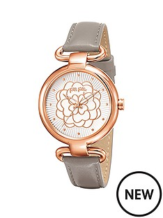 folli-follie-santorini-flower-stainless-steel-case-with-light-grey-leather-strap-ladies-watch