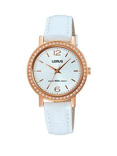 lorus-lorus-rose-gold-case-white-leather-white-strap-ladies-watch