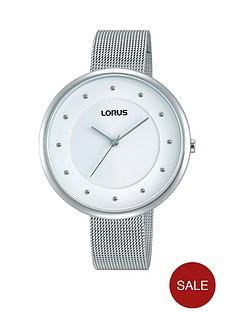 lorus-lorus-white-dial-mesh-bracelet-ladies-watch