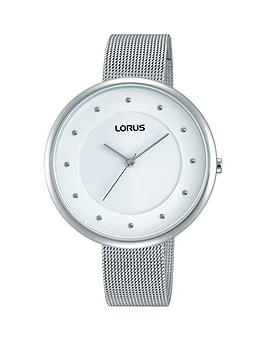 lorus-lorus-white-dial-mesh-bracelet-ladies-watch