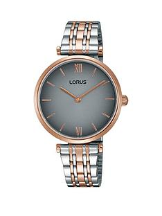 lorus-lorus-two-tone-gated-bracelet-with-sunray-grey-dial-ladies-watch