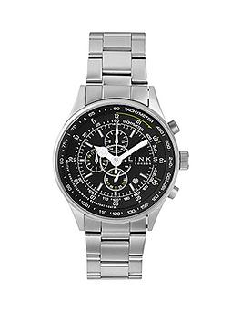 links-of-london-chronograph-black-dial-stainless-steel-bracelet-mens-watch