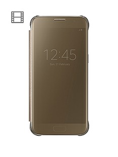 samsung-galaxy-s7-clear-view-cover-gold