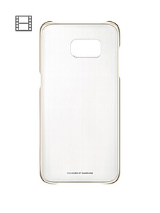 samsung-galaxy-s7-clear-cover-gold