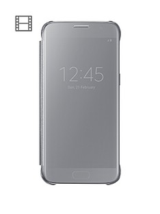 samsung-galaxy-s7-edge-clear-view-case-silver