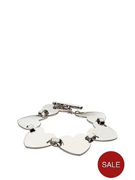 fiorelli-silver-tone-multi-heart-bracelet