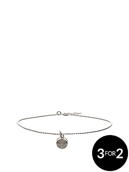 fiorelli-sterling-silver-6mm-cubic-zirconia-charm-ball-chain-anklet