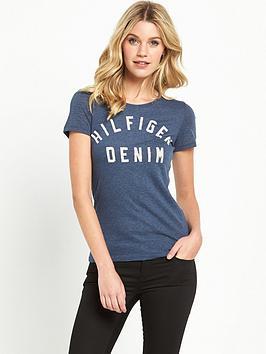 hilfiger-denim-cotton-logo-t-shirt