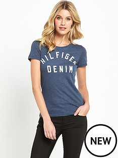 hilfiger-denim-hilfiger-denim-basic-cotton-logot-shirt