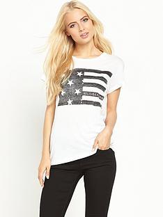 hilfiger-denim-hilfiger-denim-basic-cotton-flag-t-shirt