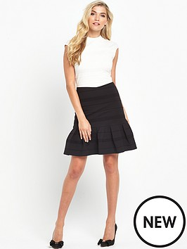 ted-baker-flared-skirt-detail-dressnbsp