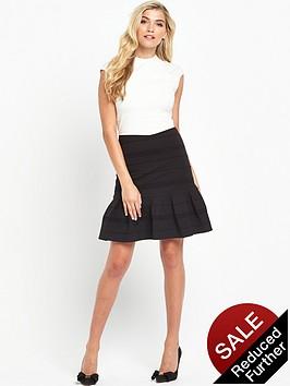 ted-baker-flared-skirt-detail-dressnbsp