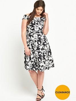 so-fabulous-print-scuba-prom-dress
