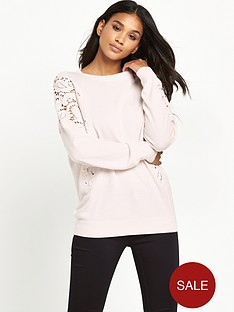 ted-baker-crochet-shoulder-jumpernbsp