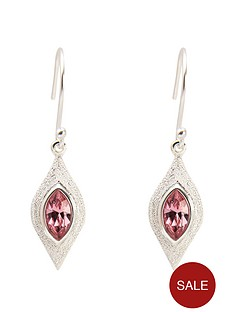 fiorelli-fiorelli-sterling-silver-swarovski-crystal-diamond-cut-earrings