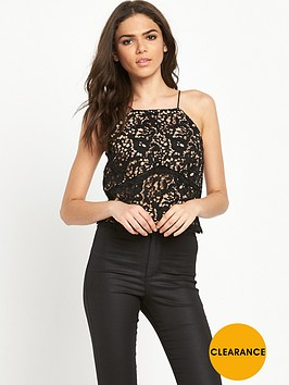 warehouse-lace-halter-top