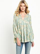 Denim & Supply Avery Swing Blouse